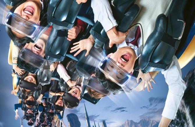 롯데월드는 지난 11월 22일, 가상현실(VR)과 롤러코스터를 합친
